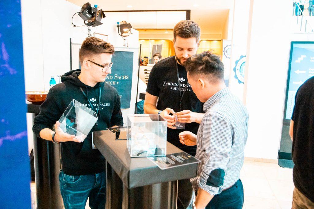 Entrepreneur University 2019 in Wiesbaden - Ferdinand Sachs Uhren