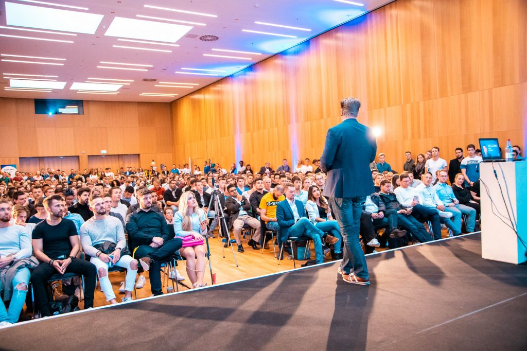 Entrepreneur University 2019 in Wiesbaden - Alex Fischer