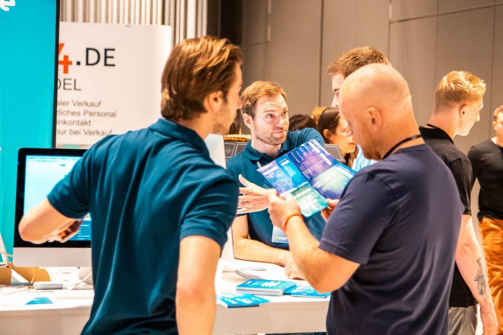 Entrepreneur University 2019 in Wiesbaden - Elopage Stand