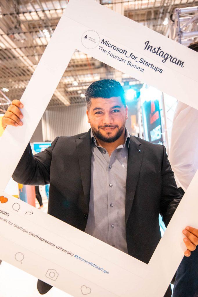 Entrepreneur University 2019 in Wiesbaden - Samer Mohamad
