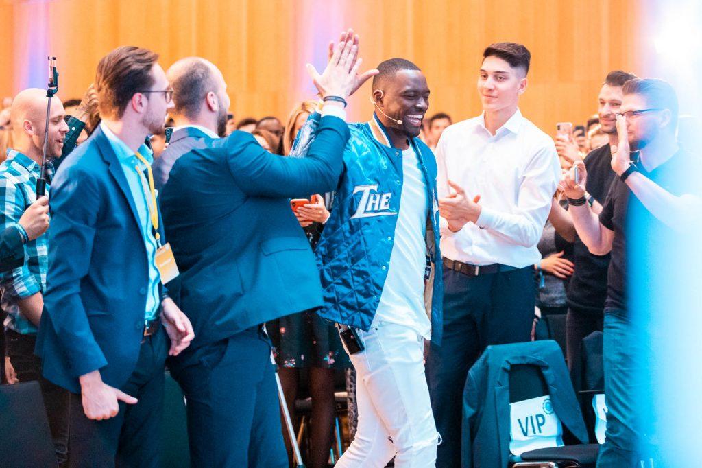 Entrepreneur University 2019 in Wiesbaden - Thaddaeus Koroma